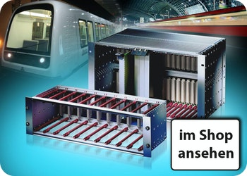 Baugruppenträger für alle Bereiche der Bahntechnik ⚙️ maßgeschneidert