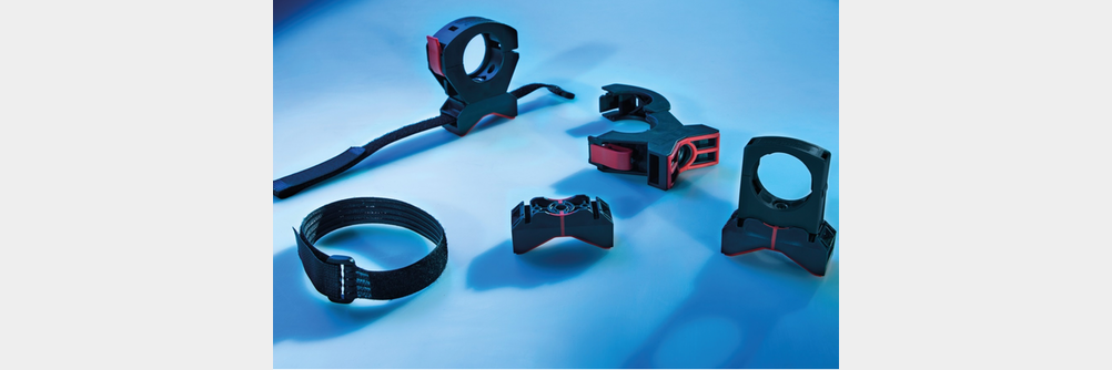 Das Flexible Halter System FHS für kollaborierende Roboter Kabelmanagement