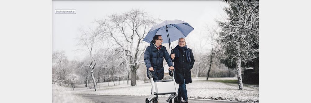 Die Mobilmacher – Rollator mit Elektroantrieb Elektromobilität emobility