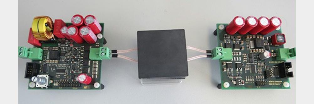 Kabellose Energie- und Datenübertragung kombinieren