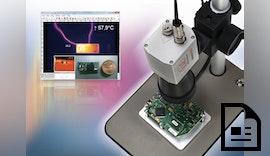 Mikroskopoptik zur Temperaturüberwachung kleinster Messobjekte