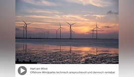 Multimedia-Reportage   Offshore-Windparks: Hart am Wind