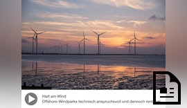 Multimedia-Reportage | Offshore-Windparks: Hart am Wind