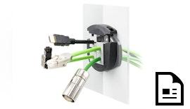 Setzt neue Maßstäbe: Teilbare Kabelverschraubung KVT-ER mit IP65 - IP68 Zertifizierung