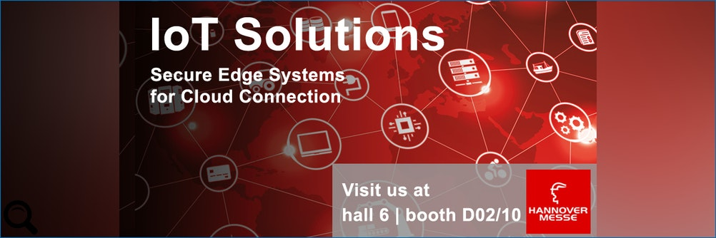 #IIoT Solutions: sichere Edge Systeme für die #Cloud-Anbindung im Industrial #IoT