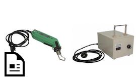 Heißschneidegeräte HSG-0 und HSG-00-VW für Kunststoffgeflechtschläuche