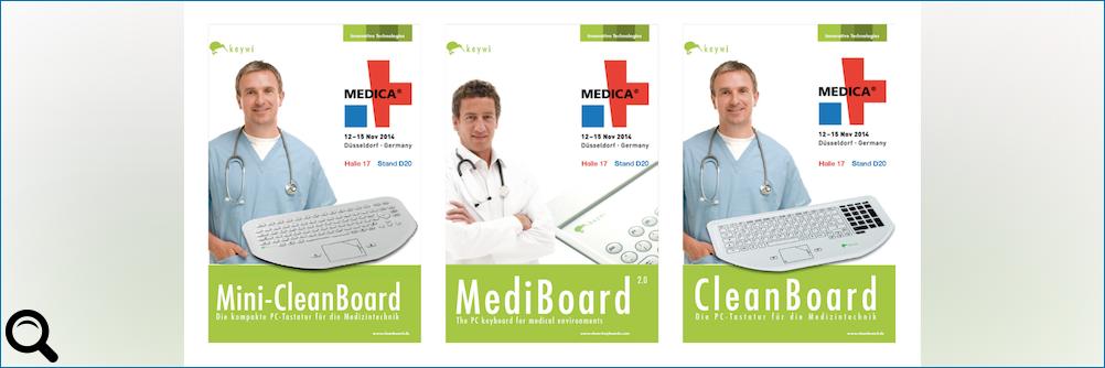 Besondere Anforderungen, besondere Lösungen - Medica 2014