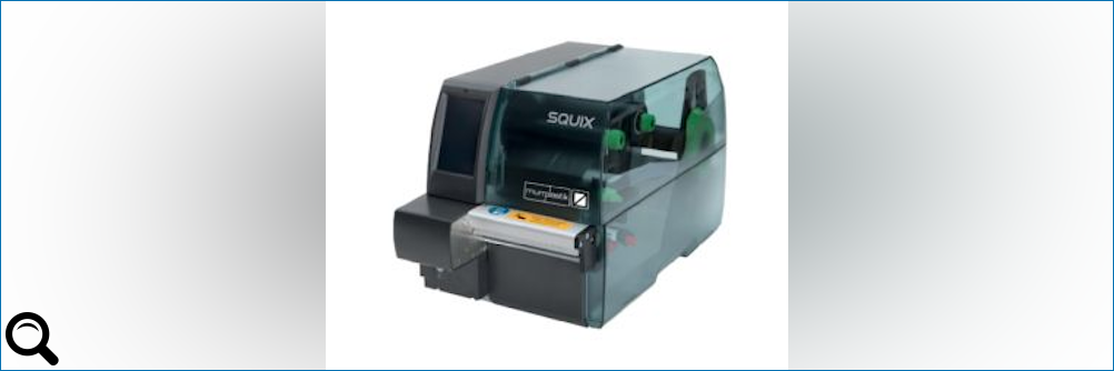Neue Generation #Thermotransferdrucker mp-TM Squix 4/M