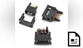 Würth Elektronik eiSos präsentiert REDFIT IDC SKEDD Steckverbinder