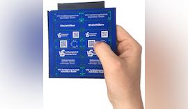 Automatisierte Laserbeschriftung aller Materialien mit der mp-LM Trägerplatte Premium