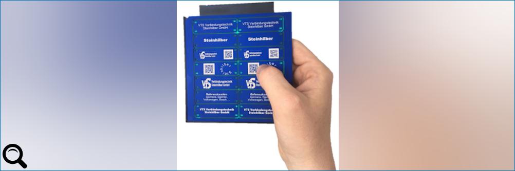 Automatisierte #Laserbeschriftung aller Materialien mit der mp-LM Trägerplatte Premium