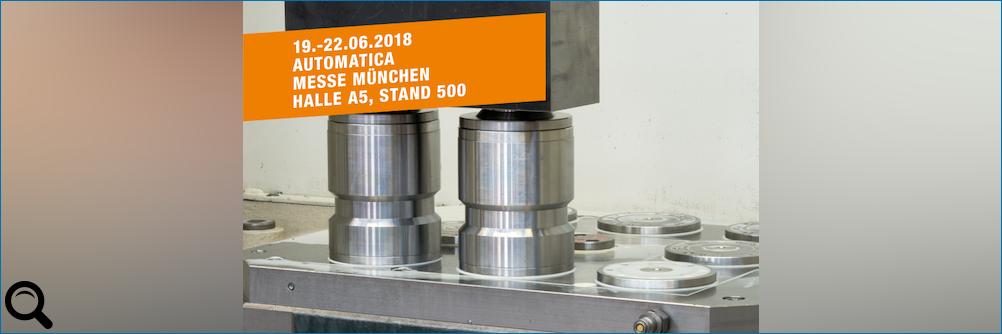 Besuchen Sie AMF auf der AUTOMATICA 2018 in München