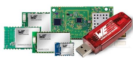 Würth Elektronik eiSos vertreibt Produkte über Farnell