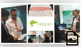 Austausch mit internationalem Publikum auf der MEDICA