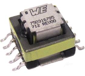Wurth Electronics Midcom bringt neue Current-Sense Transformatoren auf den Markt