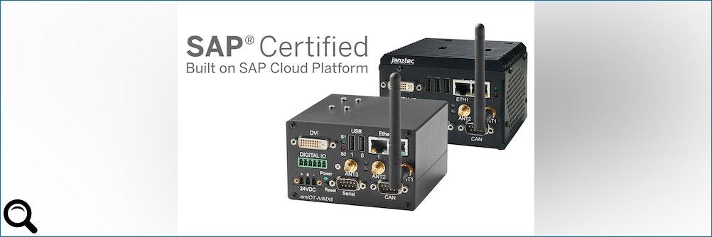 Janz Tec präsentiert von #SAP zertifizierte #IoT Edge Systeme für die SAP Cloud Plattform
