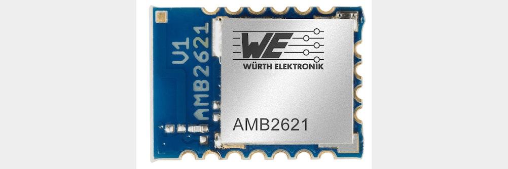 Neue Firmware für Bluetooth-Low Energy-Modul AMB2621-TR von Würth Elektronik eiSos