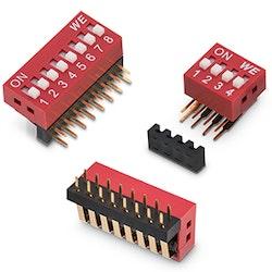 WE_eiSos bringt neuen DIP-Schalter auf den Markt