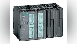 Einschubstreifen von Murrplastik für SPS-Module von Siemens