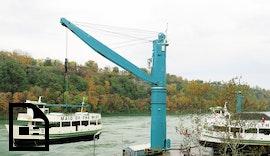 Erster Einsatz des neuen Schwerlastkrans von Liebherr an den Niagarafällen