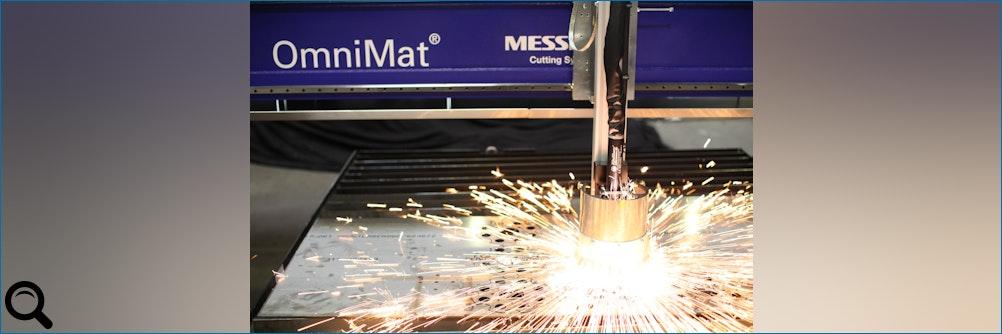 #Brennschneidmaschine OmniMat® von Messer Cutting Systems