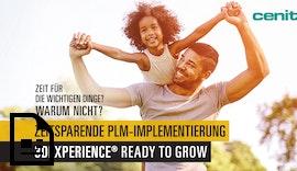Zeitsparende #PLM-Implementierung mit #3D-EXPERIENCE® READY TO GROW