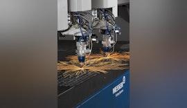Faserlasermaschine PowerBlade® von Messer Cutting Systems