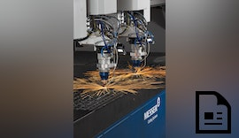 Faserlasermaschine PowerBlade® von Messer Cutting Systems