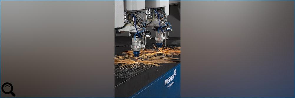 #Faserlasermaschine PowerBlade® von Messer Cutting Systems