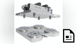 Nullpunktspannsystem RÖHM - Maschinenlaufzeiten entscheidend verlängern