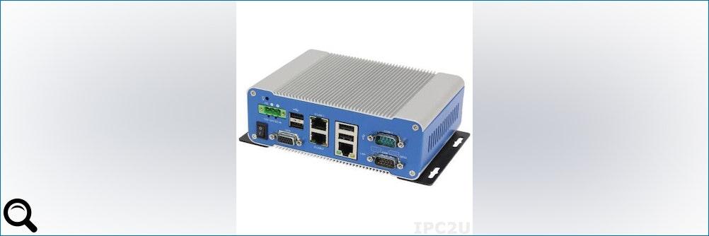 IPC2U präsentiert platzsparende lüfterlose Mini #PCs