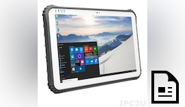 Rugged IP65 Tablet PC ROBUSTAB-TI12 mit Windows 10 IoT Enterprise Tablet PC