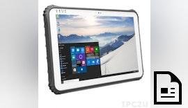 Rugged IP65 Tablet PC ROBUSTAB-TI12 mit Windows 10 IoT Enterprise Tablet PC