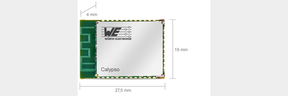 WE_eiSos präsentiert Funkmodul Calypso