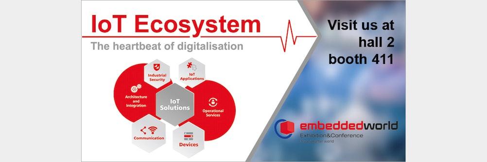 embeddedworld 2019: Lernen Sie die IoT Solutions für Ihr Projekt kennen!