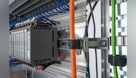 Werkzeuglose Kabelführung im Schaltschrank