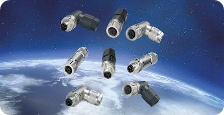 Push-In M12 Steckverbinder mit UL Zulassung