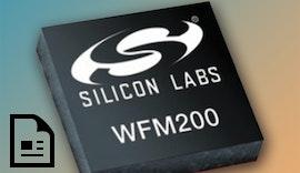 sehr klein und kompakt: WLAN-Transceiver für sichere IoT-WLAN-Anforderungen: WF200