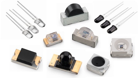 Infrarot-Detektorbauteile aus einer Hand