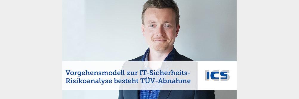 TÜV-geprüftes Vorgehensmodell für die ITSicherheit Risikoanalyse im Bahnumfeld