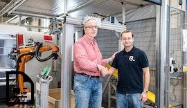 Bin Picking in der Produktion elektromagnetischer Bremsen