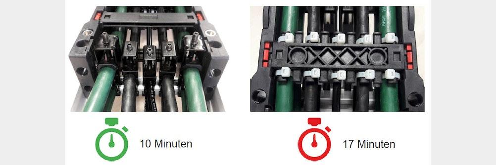 Murrplastik Steel Fix Bügelschellen - 40% Ersparnis bei der Montagezeit