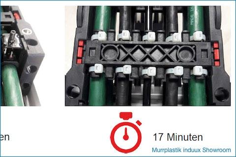 Murrplastik Steel Fix #Bügelschellen - 40% Ersparnis bei der #Montagezeit
