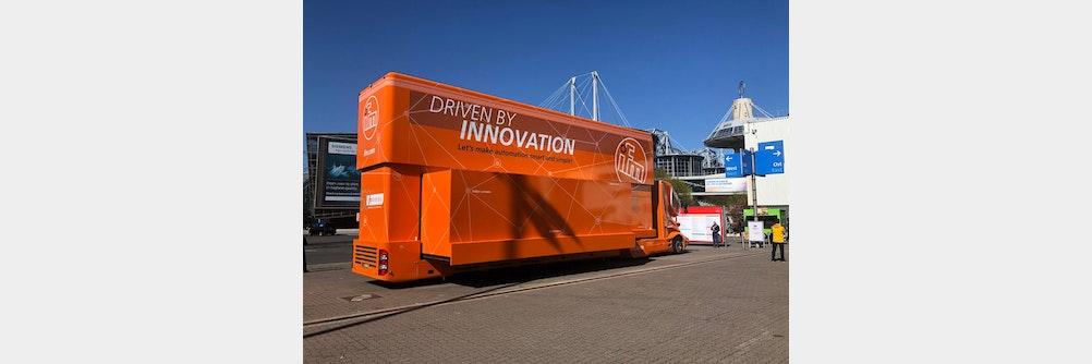 ifmErwischt: Induktive Näherungsschalter im ifm-Truck