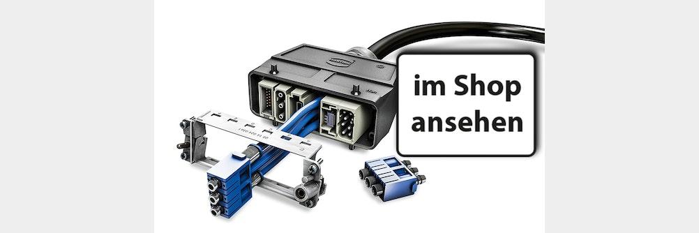 Han-Modular® - Industriesteckverbinder mit unzähligen Steckgesichtern ✔️
