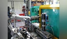Vollautomatische ✔️ Herstellung eines Kunststoffhybridbauteils
