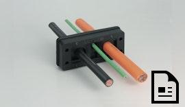 Kabeldurchführung nach Maß - Cablefix® One