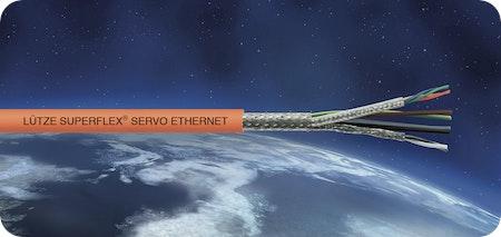 Ethernet-Hybridleitungen für neue SIEMENS® und BOSCH REXROTH® Servomotorsysteme