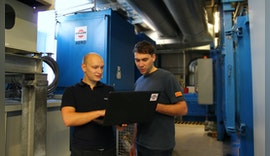 Sandvik Tooling Supply: Härterei profitiert vom Keller Lufttechnik After-Sales Service