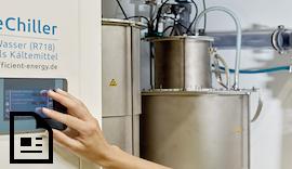 """Smartes Konzept, smart gesteuert: Der """"eChiller"""" ersetzt Chemie durch reines Wasser"""